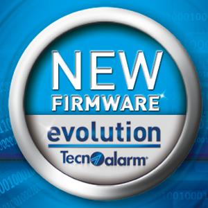 Rilascio nuovi firmware versione 1.3.00 per le centrali Evolution