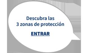 Descubra las tres zonas de protección