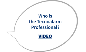 Who is the Tecnoalarm Professional?