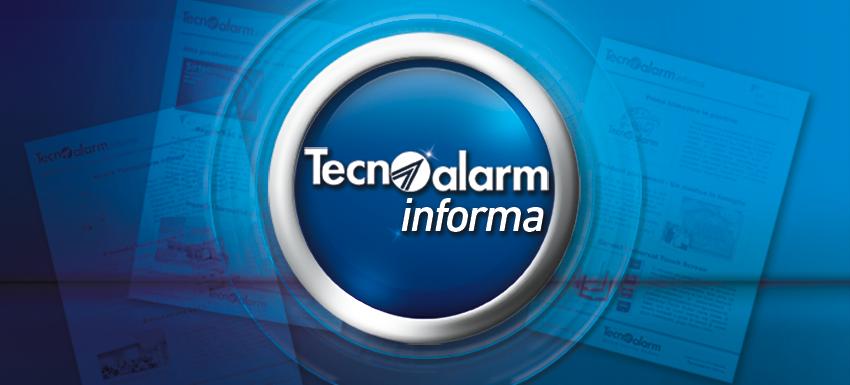 Tecnoalarm informa - Agosto 2018