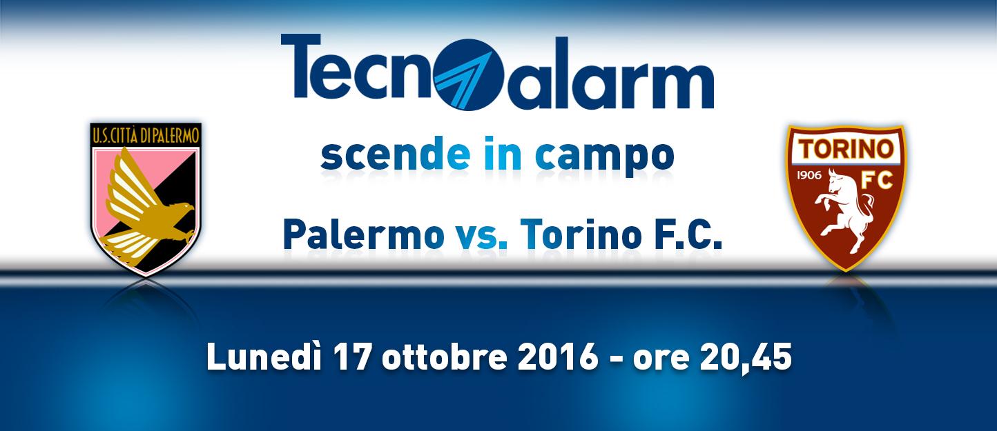 TECNOALARM SCENDE IN CAMPO: PALERMO VS TORINO F.C.