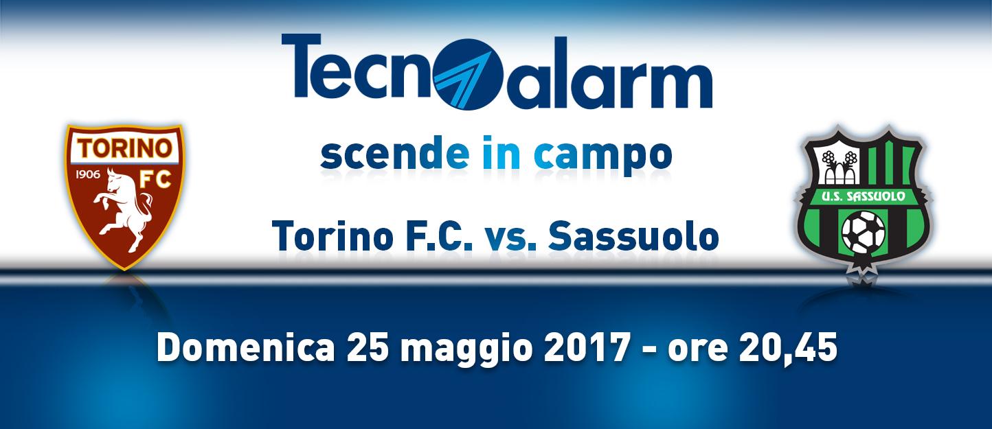 TECNOALARM SCENDE IN CAMPO: TORINO F.C. vs SASSUOLO